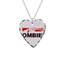 I Shotgun Zombies Necklace