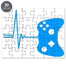 Gamers Heart Beat Puzzle