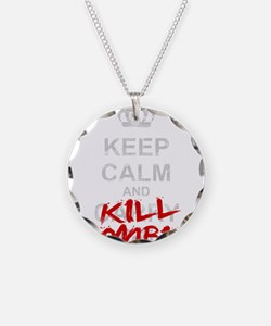 Funny Keep calm video Necklace
