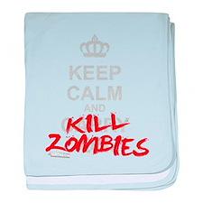 Funny Zombie calm baby blanket