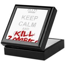 Cute Zombie calm Keepsake Box