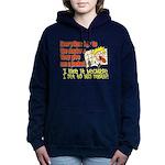 hugmyself.png Hooded Sweatshirt