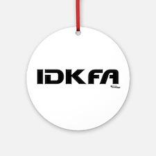 IDKFA Ornament (Round)