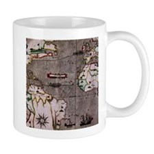Nautical India Map Mugs