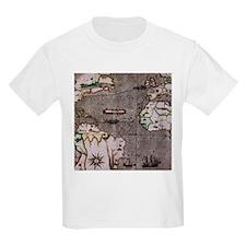 Nautical India Map T-Shirt