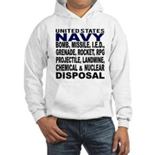 Navy Disposal Hoodie