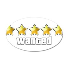 Wanted Wall Decal