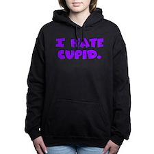 hatecupid.png Hooded Sweatshirt