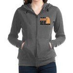 Cat's World Domination Zip Hoodie