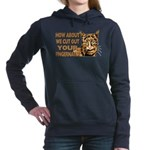 CUT OUT YOUR FINGERS.png Hooded Sweatshirt