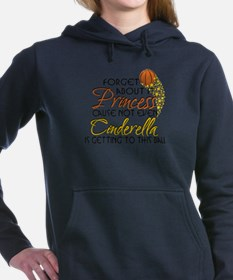 cinderella basketball2.png Hooded Sweatshirt