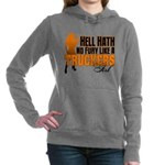 Hell Hath No Fury - Truc Women's Hooded Sweatshirt