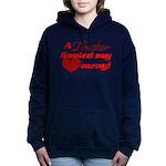 Trucker Hauled My Heart Women's Hooded Sweatshirt