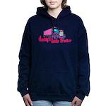 Daddy's Little Trucker Women's Hooded Sweatshirt