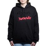A Trucker's Wife - Faith Women's Hooded Sweatshirt