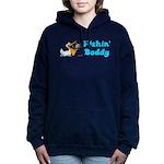 fishinbuddy.png Hooded Sweatshirt