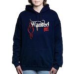 bleedingWantedGirl copy.png Hooded Sweatshirt