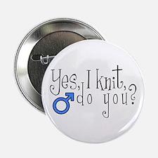 Men Knit Too! Button