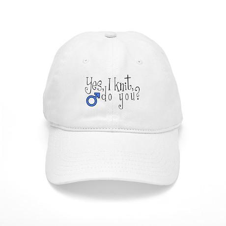 Men Knit Too! Cap
