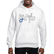 Men Knit Too! Hoodie