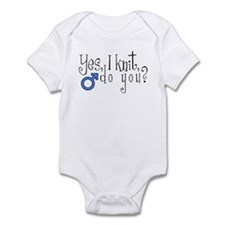 Men Knit Too! Infant Bodysuit