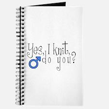 Men Knit Too! Journal