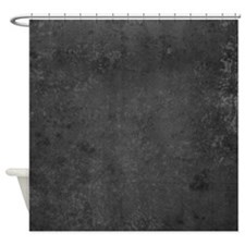 Worn Graph 7 Shower Curtain