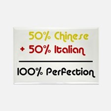 Italian & Chinese Rectangle Magnet