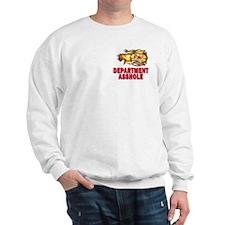 Fire Department Asshole Sweatshirt
