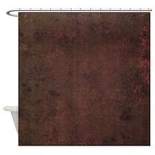 Worn Graph 2 Shower Curtain