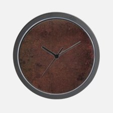 Worn Graph 2 Wall Clock