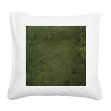 Worn Graph 1 Square Canvas Pillow