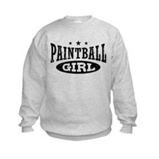 Paintball Girl Sweatshirt