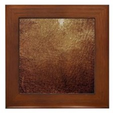 Worn 9 Framed Tile