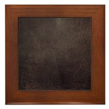 Worn 8 Framed Tile