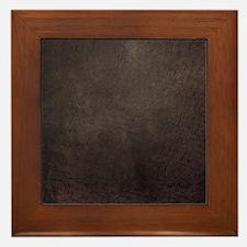 Worn 8 Framed Tile