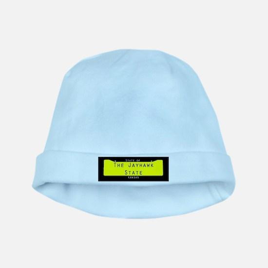 Kansas Nickname #2 Baby Hat