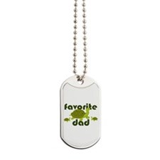Favorite Dad Dog Tags