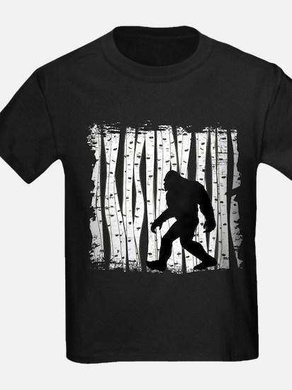 Bigfoot In Birch T-Shirt