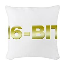 16-Bit Woven Throw Pillow