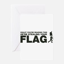 Capture The Flag Greeting Card