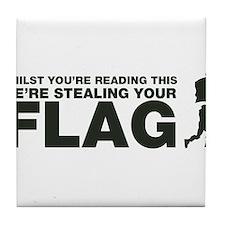 Capture The Flag Tile Coaster