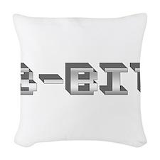 8-Bit Woven Throw Pillow
