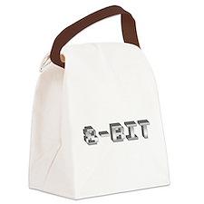 8-Bit Canvas Lunch Bag