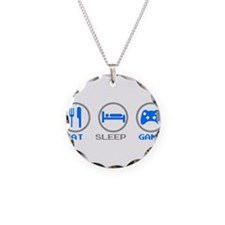 Eat Sleep Game Necklace