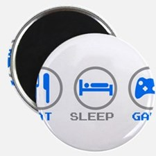 "Eat Sleep Game 2.25"" Magnet (10 pack)"