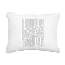 Dot Matrix Pad Rectangular Canvas Pillow