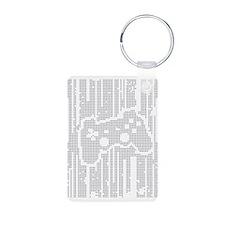 Dot Matrix Pad Keychains