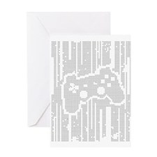 Dot Matrix Pad Greeting Card