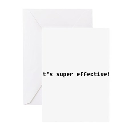 It's Super Effective Greeting Cards (Pk of 20)